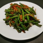 Chinese Long Bean in Satay Sauce