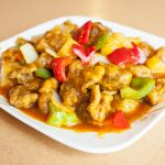 Sweet & Sour Chicken with Pineapple Sauce