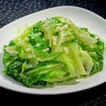 Stir Fried Chinese Vegetable in Garlic Sauce