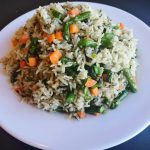 Kings Vegetarian House Special Fried Rice