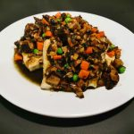 House Special Grill Tofu with Mushroom