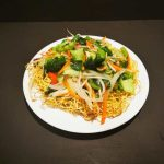 Mix Vegetable Chow Mein Or Lo Mein (Egg Noodle)